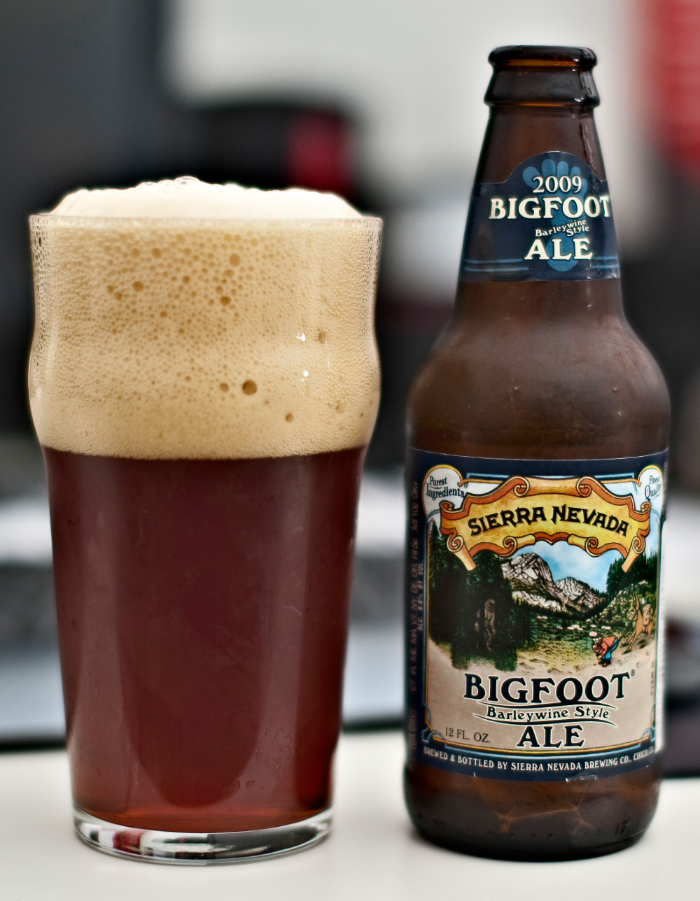 Sierra Nevada Bigfoot Barleywine Style Ale (2009), edwin, CC BY 2.0